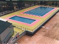 設計事例 「荒木小学校 プール」