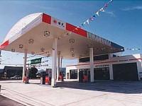 設計事例 ガソリンスタンド「オアシスひかわ」