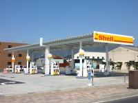 設計事例「ガソリンスタンド(セルフ)&コインランドリー」
