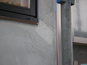 漆喰壁下地割れ止めネット貼り(仕上げ2枚目)