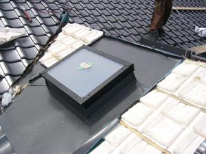 ユカルーフによる外断熱とペアガラス使用のトップライト
